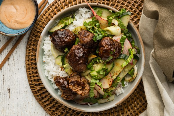 korean beef meatball