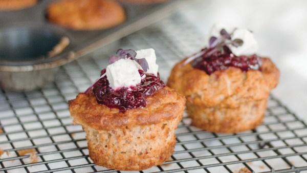 savoury muffins