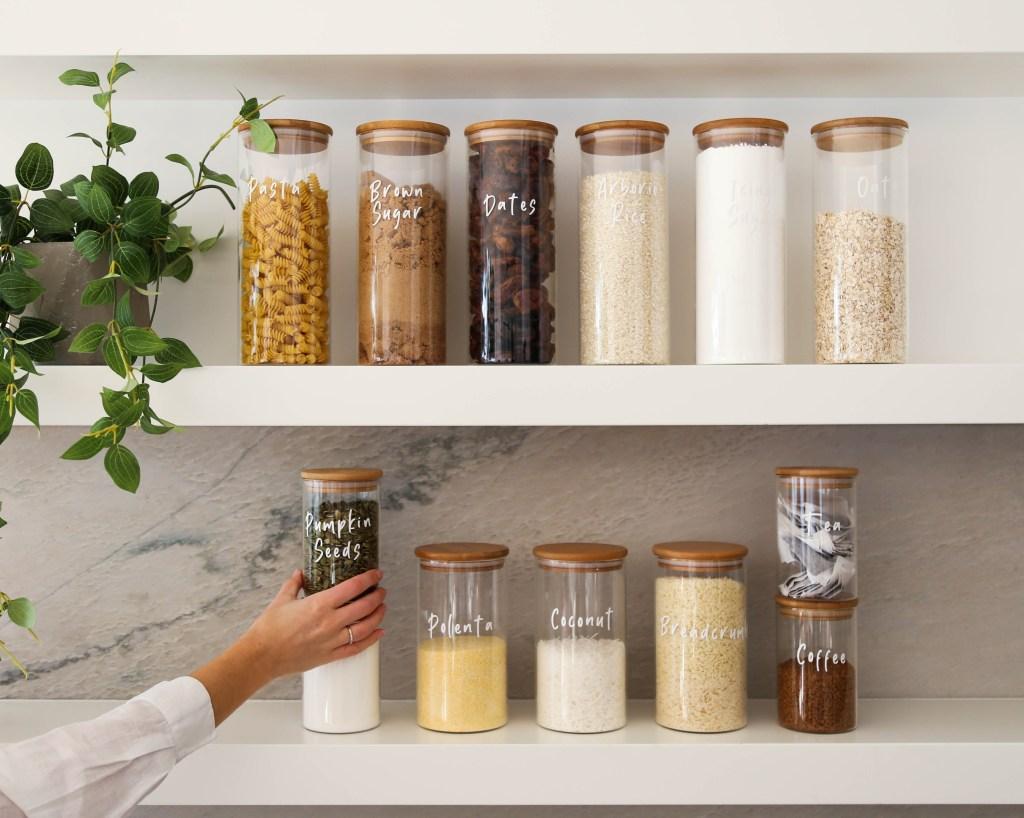 organising your kitchen