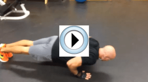 30 Days of Push-ups: Day 18 Staggered Plyometric Push-ups video thumbnail