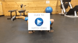 30 Days of push-ups: Day 28 Leg Swing Push-ups video thumbnail