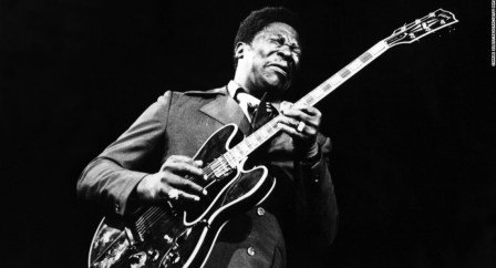 BB King, King of guitare blues