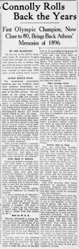Article from the Boston Post, August 1, 1948. Courtesy of the MyHeritage newspaper collections