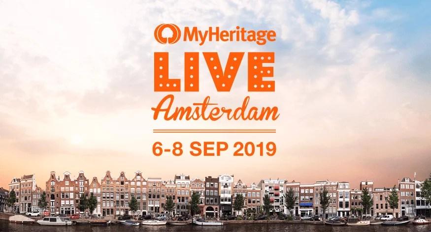 MyHeritage Live 2019 Amsterdam