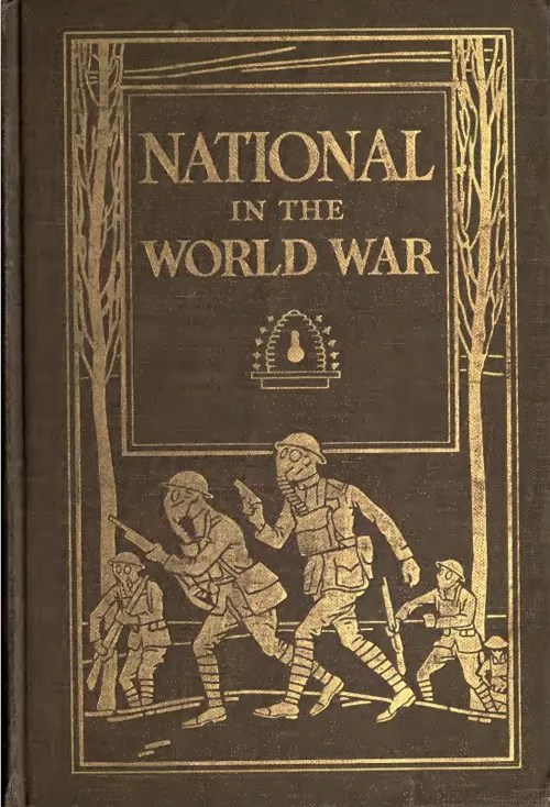Photo of the cover of The National in the World War