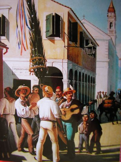 May Day in Corfu by Charalambos Pachis [Credit: National Gallery of Greece]