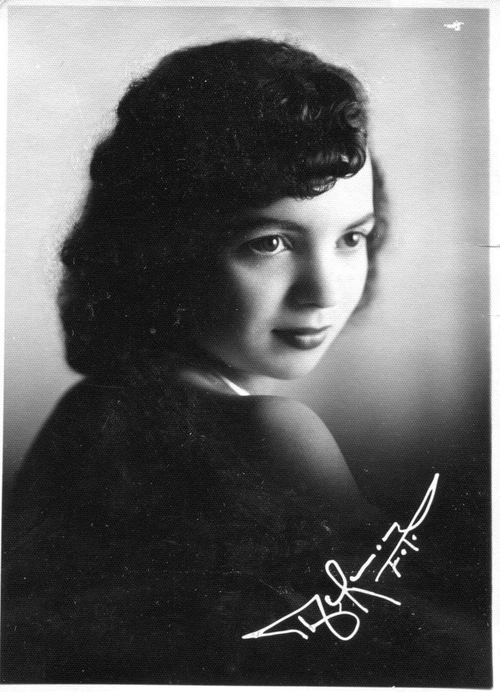 In the pic: Karla's mother Dolly Cadavid