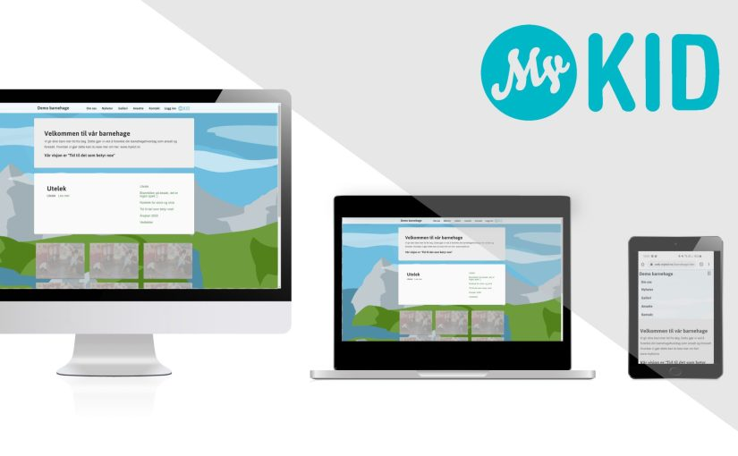 Hjemmeside med MyKid!