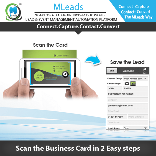 Tired of losing business cards? Card scanning