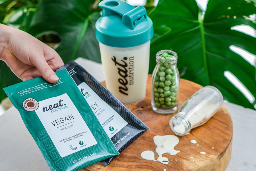 Neat Nutrition protein powder concept