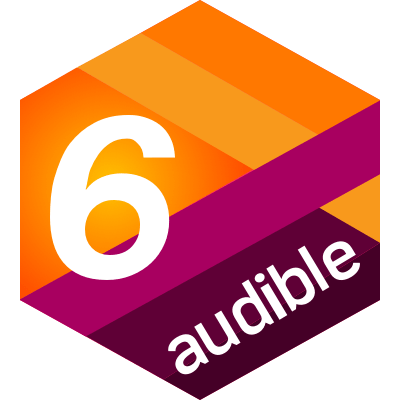 Audible 6 for 6 challenge completion badge