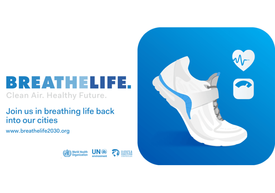 Walk 50km with Pacer & BreatheLife in May for better health & air!