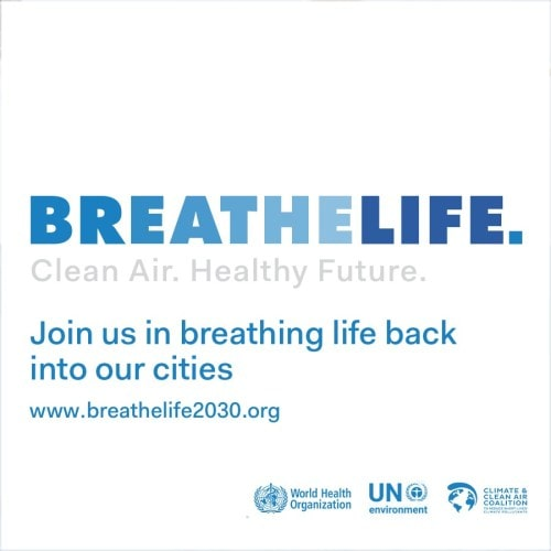 Breathelife 2030 campaign logo and slogan