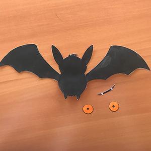 chauve-souris décoration Halloween 4