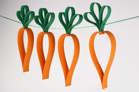 Guirlande de carottes