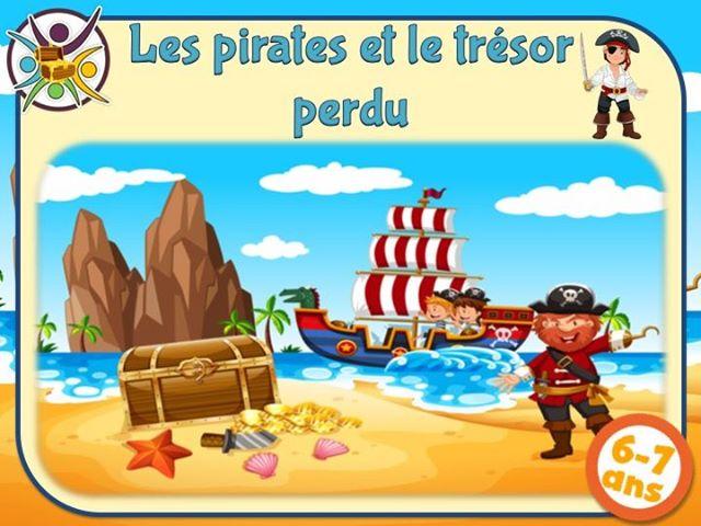 activité anniversaire chasse au trésor pirate