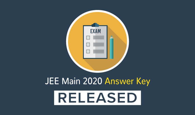 NTA releases official JEE Main 2020 Answer Key