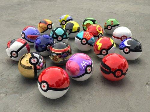 Trouvez l'inspiration de votre décoration sur les couleurs des pokeballs Pokemon