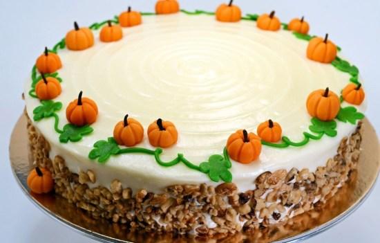 Le carrot cake citrouilles
