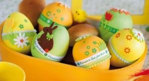 Oeufs de Pâques du blog Tout à créer