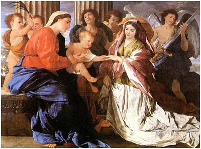 tableau représentant une fête de catherinettes