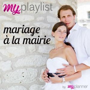 Playlist mariage à la mairie