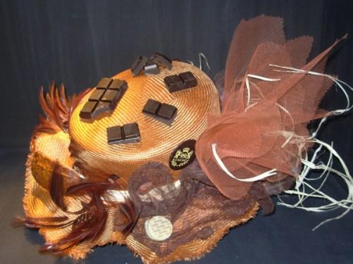 Chapeau de catherinettes sur le thème du chocolat