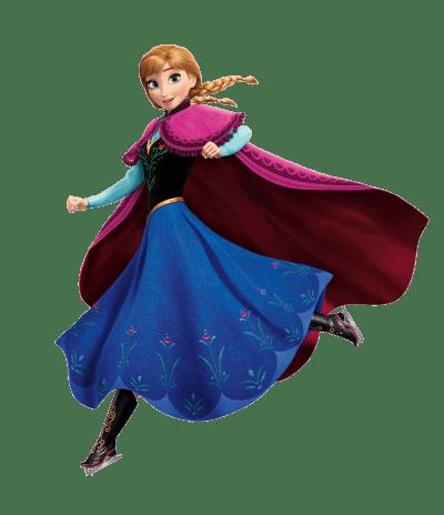 Personnage d'Anna d'Arendelle du film Disney la reine des neiges