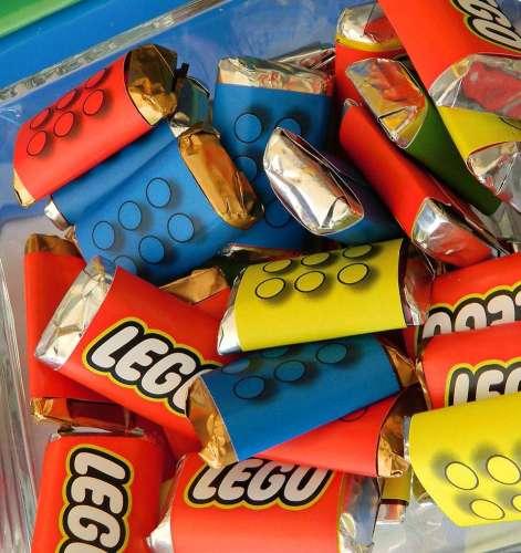 Cadeaux d'invités à offrir à un anniversaire lego