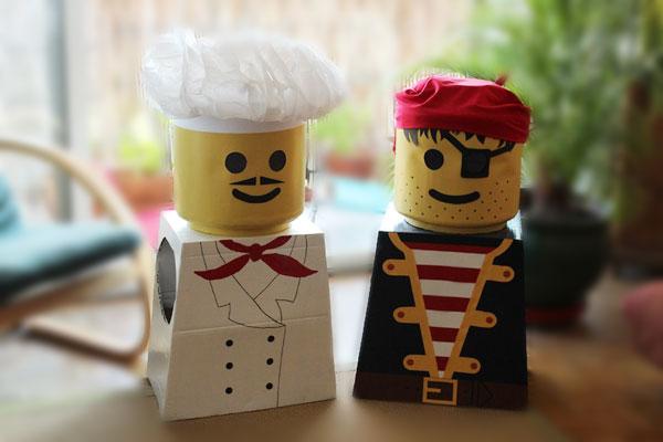 Un anniversaire sur le th me lego myplanner le blog - Deguisement tete de lego ...