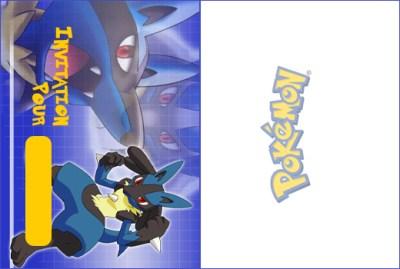 Un anniversaire sur le th me pok mon myplanner le blog - Imprimer une carte pokemon ...
