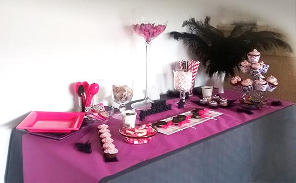 Buffet d'anniversaire Chica Vampiro