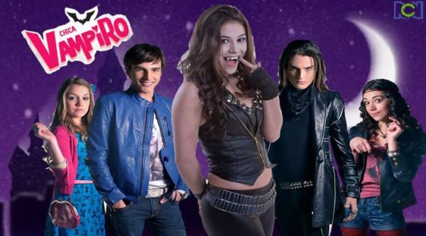 Poster des personnages de chica vampiro