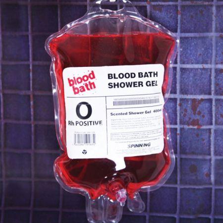 Gel douche poche de sang par Cadeaux Folies