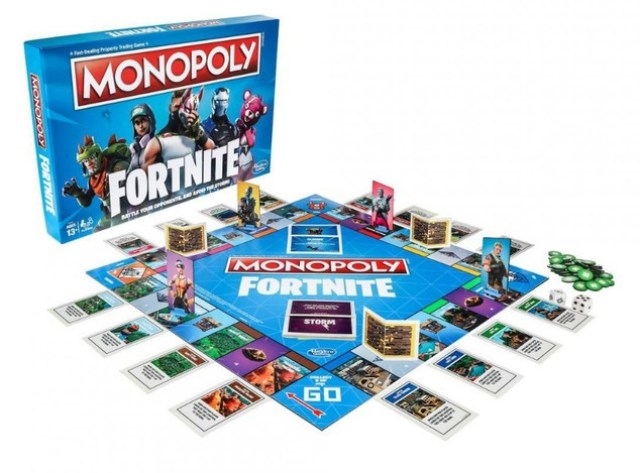 Monopoly Fortnite 2018