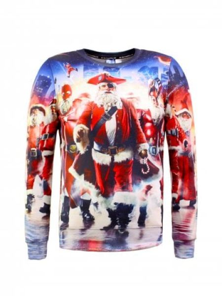 Pull Père Noël pirate