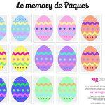 Le memory de Pâques