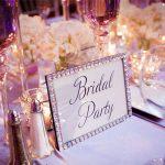 Comment choisir des noms de table pour votre réception?
