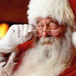 Les bottes enneigées du Père Noël