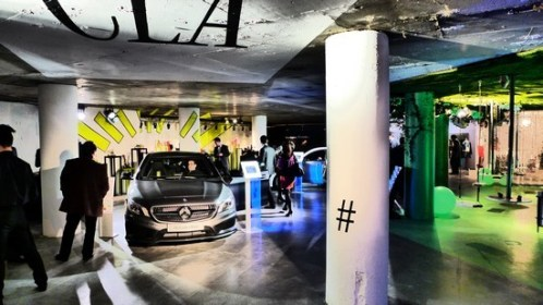 MERCEDES POP UP STORE