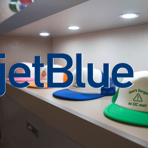 JETBLUE POP UP STORE
