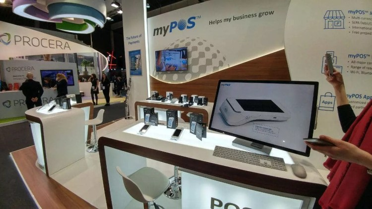 Mobile World Congress 2017 - myPOS stand