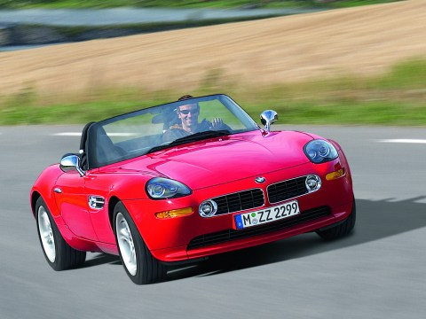 This Bright Red BMW Z8 has only 26k miles and is for sale
