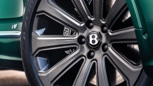 2022 Bentley Bentayga gets the world's largest production carbon wheels
