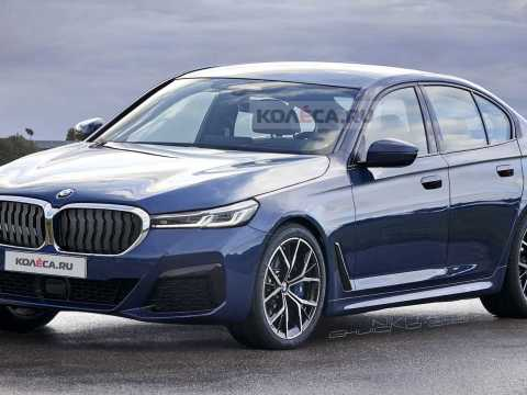 Upcoming BMW 5 Series rendered based on latest spy shots