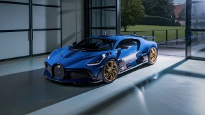 Bugatti's final Divo is a tribute to its last official Le Mans entry