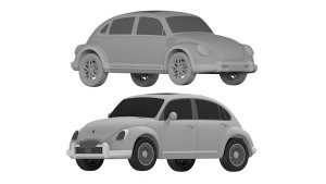 China's electric Volkswagen Beetle knock-off shows up in patent images