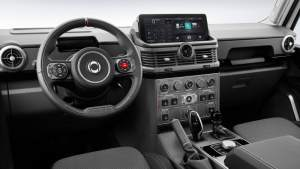 Ineos Grenadier's interior is an exercise in function-over-form design