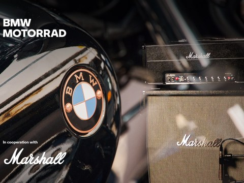 BMW Motorrad joins forces with Marshall for upcoming sound systems