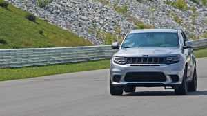 Supercharged Jeep Grand Cherokee Trackhawk reportedly won't be back